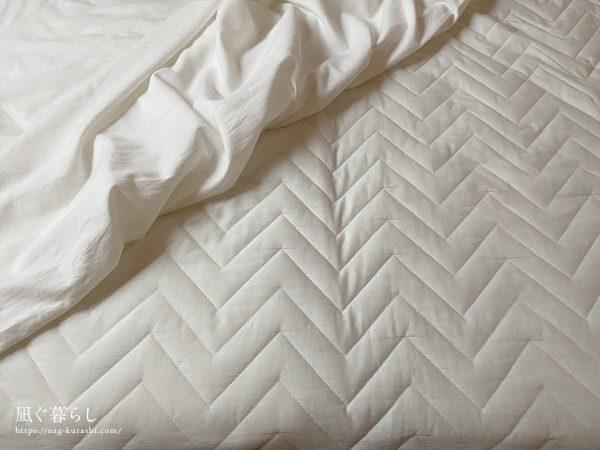 ベッドパッドとマットレスカバー