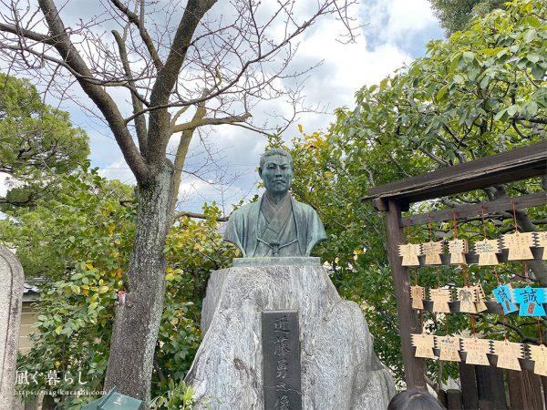 壬生寺 近藤勇の銅像