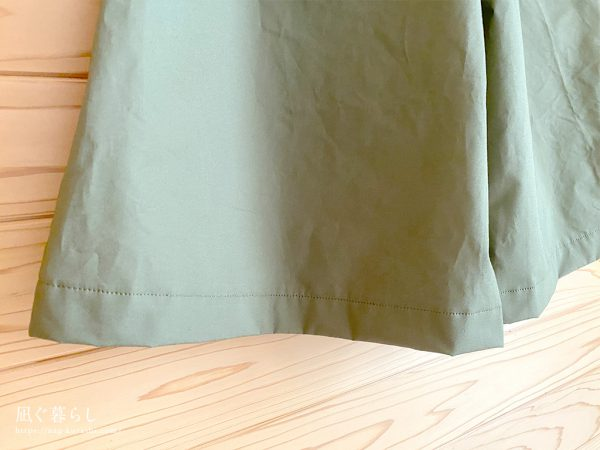 「女の子のシンプルでかわいい服」ガウチョパンツ